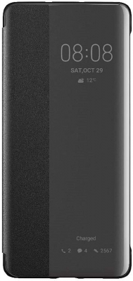 Huawei Official Smart View Flip Cover Case Brand New - Black - P30 Pro