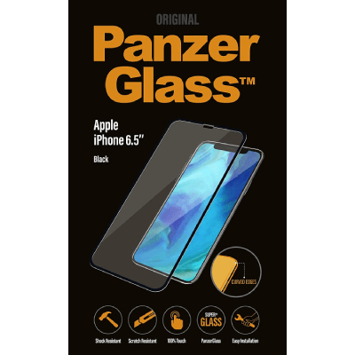 Panzerglass Edge To Edge Screen Protector Brand New - Black - Iphone Xs Max/11 Pro Max