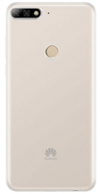 Huawei Official TPU Case Brand New - Clear - Y7