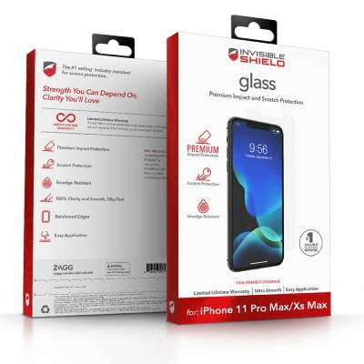 Zagg Invisible Shield Glass Plus Visionguard Screen Protector Brand New - Clear - Iphone Xs Max/11 Pro Max