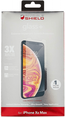 Zagg Invisible Shield Glass Plus Screen Protector Brand New - Clear - Iphone Xs Max/11 Pro Max