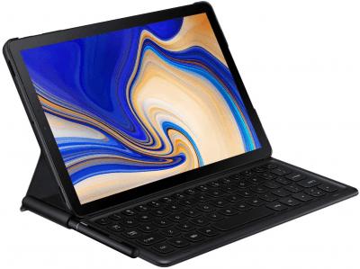 Samsung Galaxy Tab S4 Book Cover Keyboard Pristine - Black - Galaxy Tab S4
