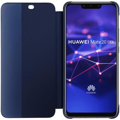 Huawei Official Smart View Flip Cover Case Brand New - Blue - Mate 20 Lite