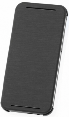 HTC Official Flip Case Brand New - Grey - One M8