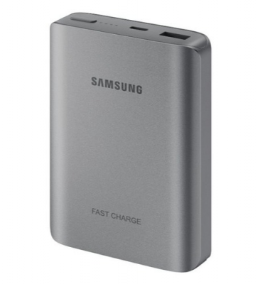 Samsung Faster Charging Technology Battery Pack Brand New - Grey - 10200 Mah