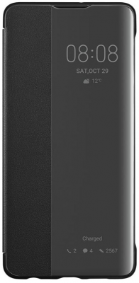 Huawei Official Smart View Flip Cover Brand New - Black - P30