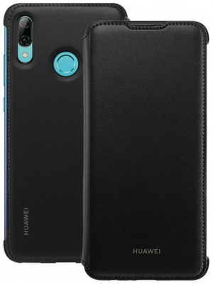 Huawei Official Wallet Cover Brand New - Black - P Smart 2019