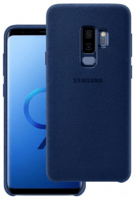 Samsung Official Alcantara Case Brand New - Blue - Galaxy S9 Plus