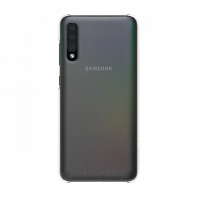 Wits Designed for Samsung Premium Hard Case Brand New - Clear - Galaxy A70