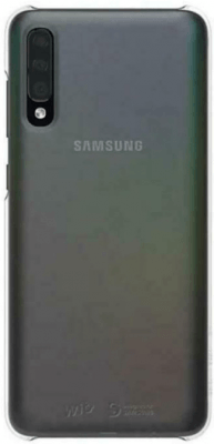 Wits Designed for Samsung Premium Hard Case Brand New - Silver - Galaxy A70