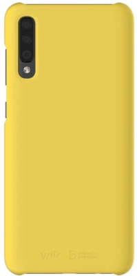 Wits Designed for Samsung Premium Hard Case Brand New - Yellow - Galaxy A70
