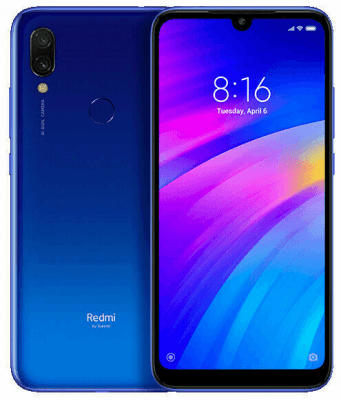 Xiaomi Redmi 7 Dual Sim - Pristine - Comet Blue - Unlocked - 32gb