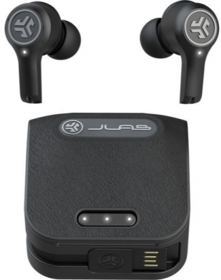 JLab Epic Air True Wireless Earbuds Pristine - Black