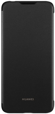 Huawei Official Flip Cover Brand New - Black - Y6